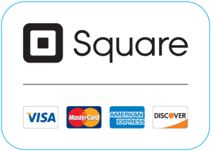 Square Secure Payments all Major Credit Cards Accepted