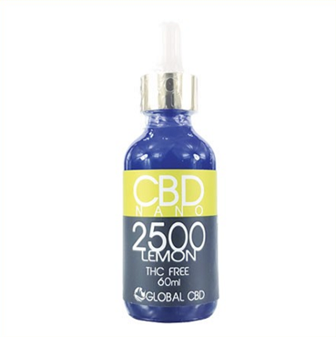 LEMON CBD NANO DROPS 250 MG