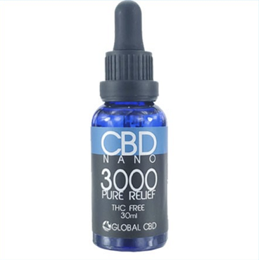 PURE RELIEF 3000 - PREMIUM NANO CBD DROPS 300 MG