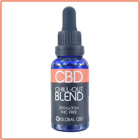 Though we can't say anxiety we can say relax with our Chill Out CBD tincture
