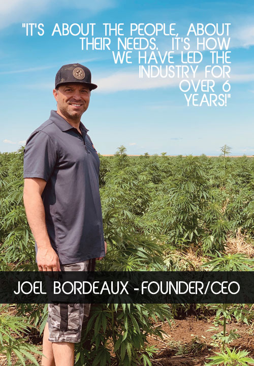 Joel Bordeausx The Owner Of Global CBD