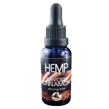 SAVORY CINNAMON HEMP DROPS - 450 MG CBD