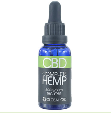 COMPLETE HEMP CBD DROPS - 500 MG Multi Spectrum CBD
