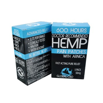 Hemp CBD Patches With Minerals and Arnica Deep Relief